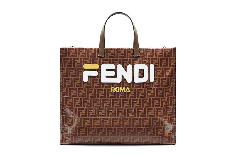 Where to Buy Fendi FILA Monogrammed Tote Bag  b35feee1b626f
