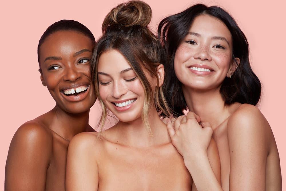 Colourpop fourth ray beauty models diversity girls pink
