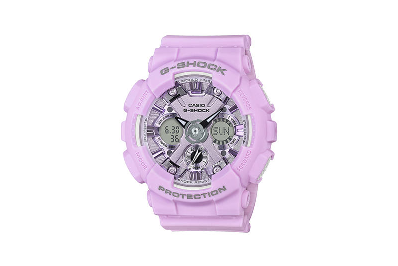 G-Shock S Series Pastel Color Watch Collection Purple
