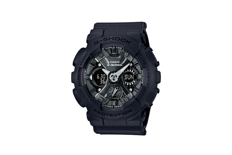 G-Shock S Series Pastel Color Watch Collection Black