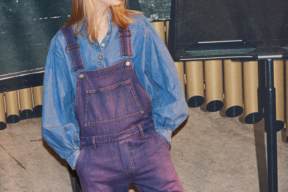 GANNI Denim Jeans Jacket Jumpsuit Boiler Suit Dungarees Overalls Skirts Collection FW18