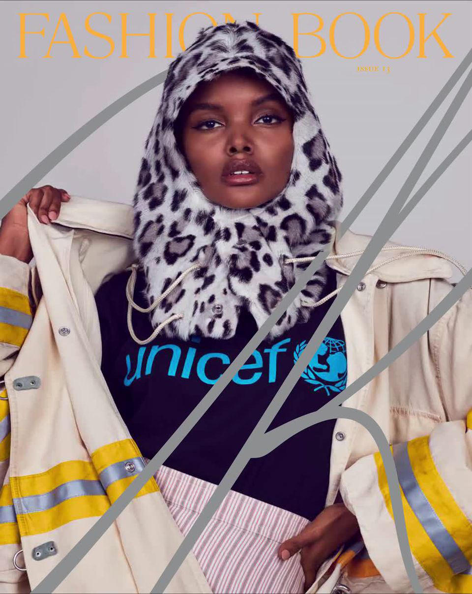 Gigi Hadid Halima Aden CR Fashion Book Cover Issue 13 UNICEF
