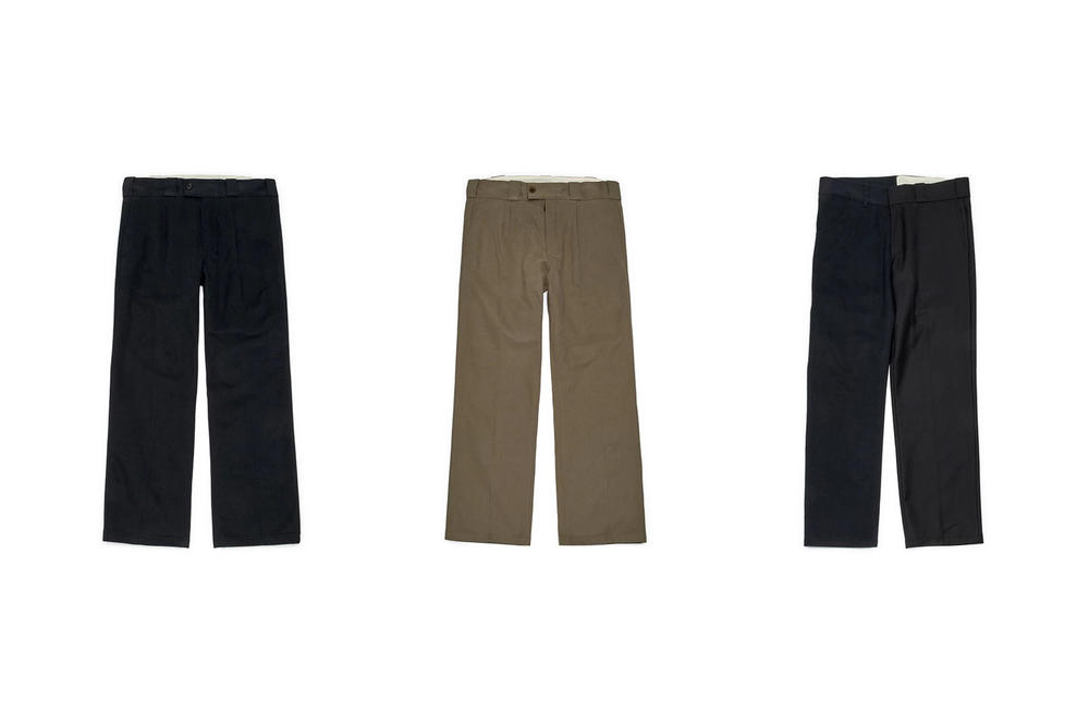 Gosha Rubchinskiy Fall/Winter 2018 Second Drop Trousers Black Green Navy