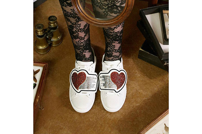 Gucci Chinese Valentine's Day Ace Sneakers White