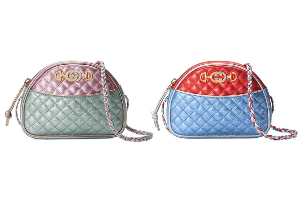 02224f2ebae0 Where to Buy Gucci Metallic Leather Mini Bag