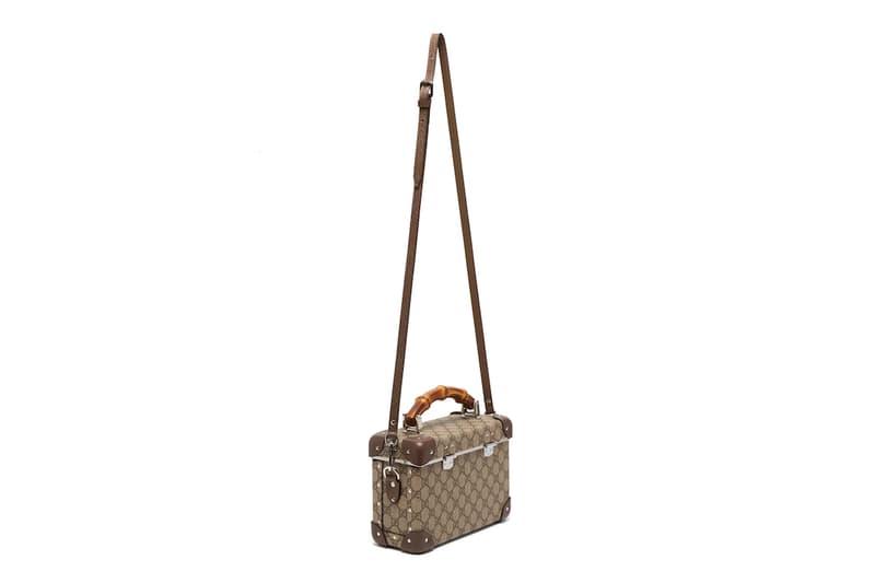 Gucci Monogram Case Bag Vanity Purse GG Print Globe-Trotter Alessandro Michele Designer Purse