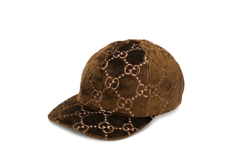 40d61802b5d6 Gucci s Brown Monogram Cap Is the Ultimate Accessory