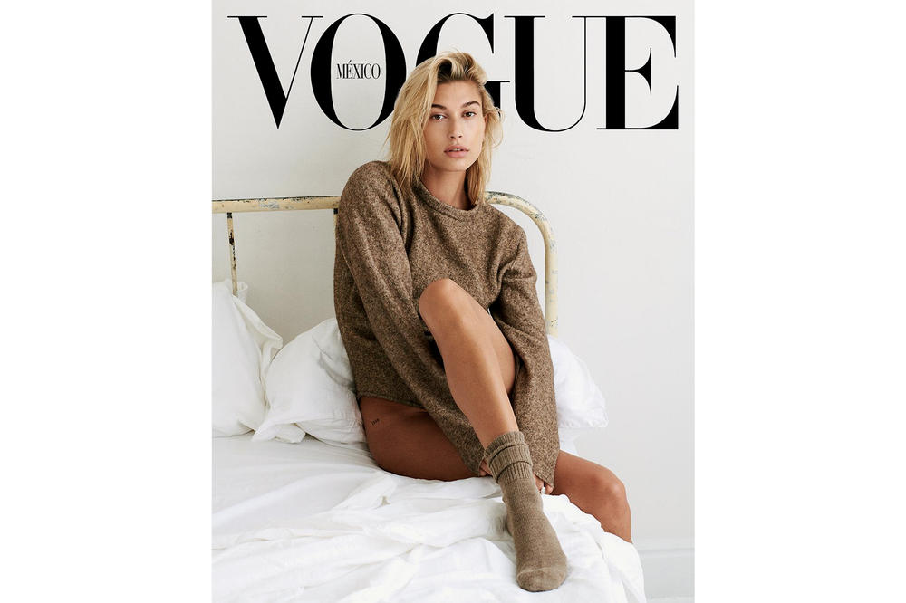 Hailey Baldwin Vogue Mexico Cover September Issue 2018