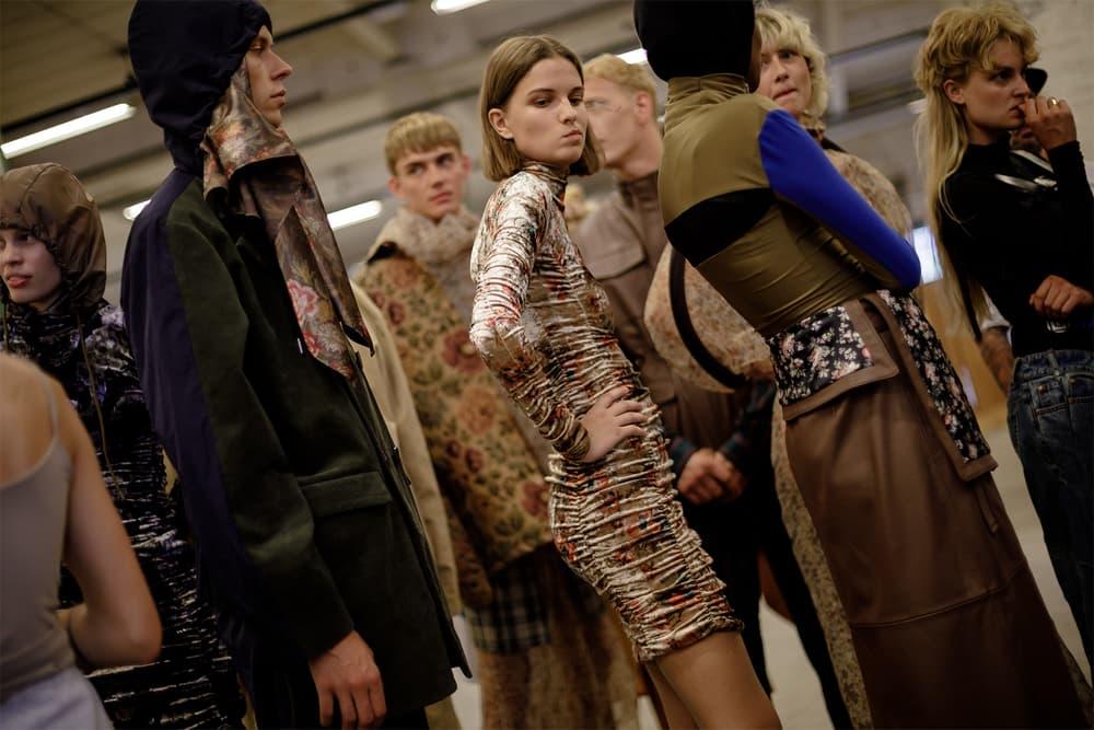 han kjobenhavn copenhagen fashion week backstage