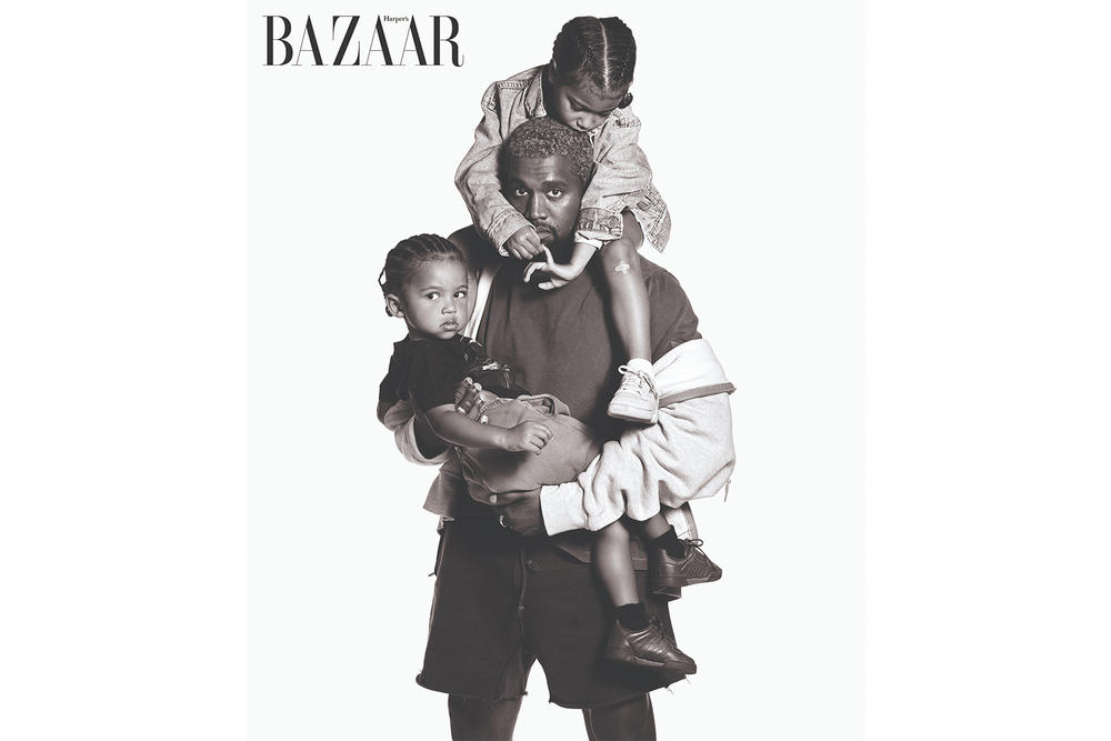 Kanye North Saint West Cover Harper's Bazaar September Icons Issue 2018 Carine Roitfeld Mario Sorrenti