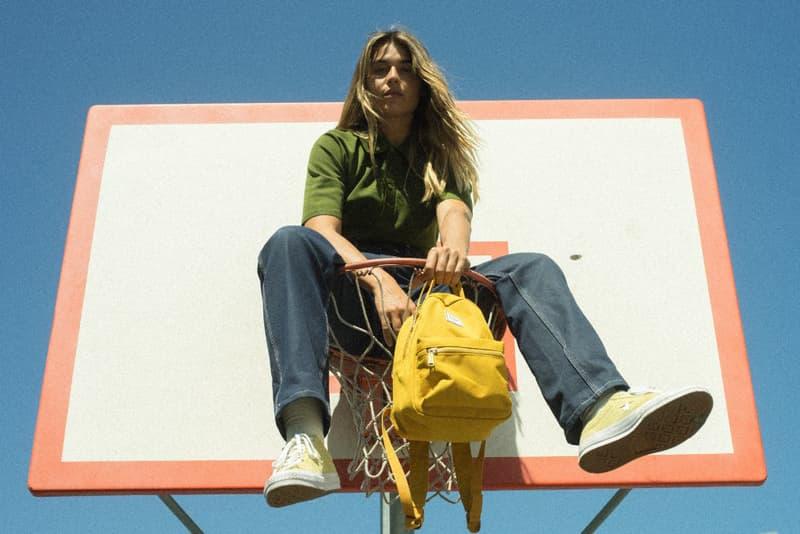 Herschel Supply Sample Sale Tavia Bonetti Pink Backpack Sunglasses Model LA