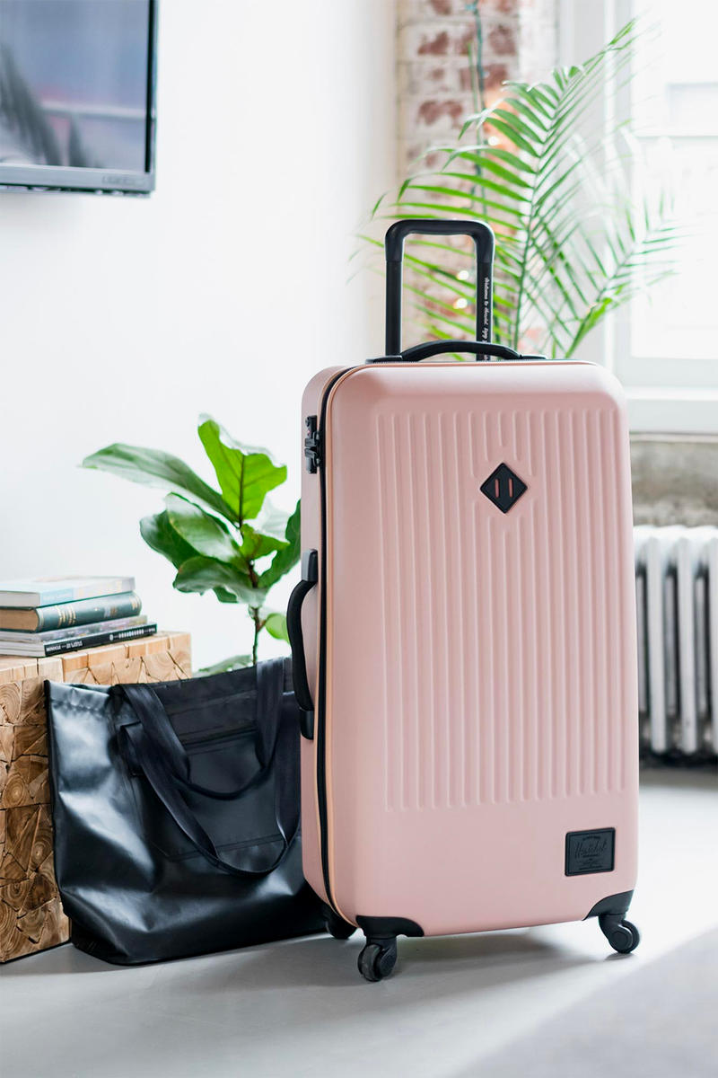 Herschel Supply Trade Luggage Suitcase Giveaway Ash Rose Pink Travel