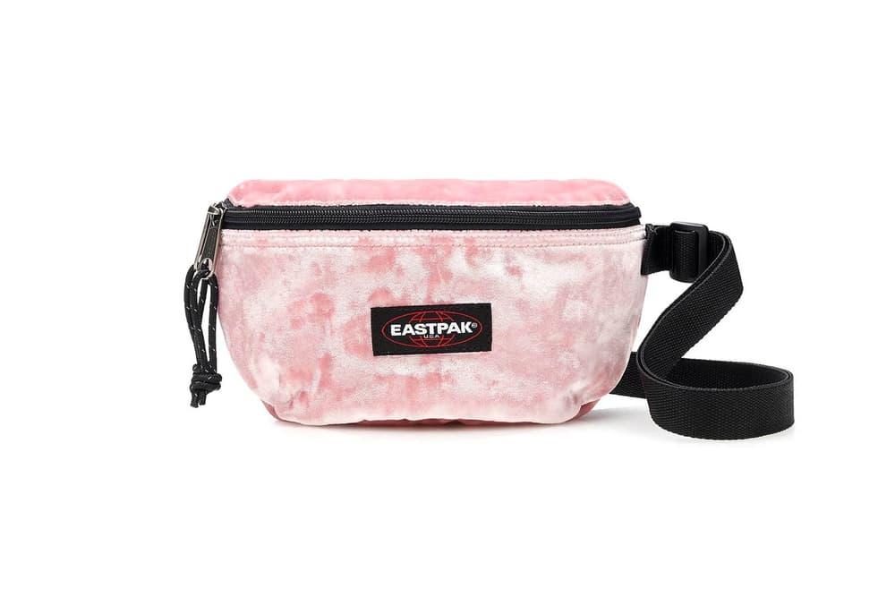J.Crew Eastpak Pink Velvet Fanny Pack