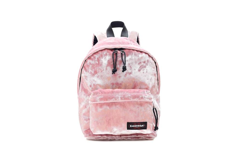 J.Crew Eastpak Pink Velvet Backpack