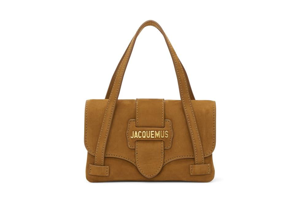 Jacquemus Mini Purse Bag Miniature Accessory Trend Bag Simone Porte Leather Le Minho