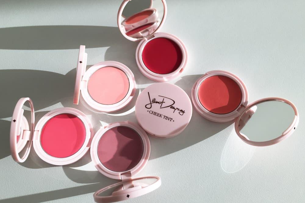 Jillian Dempsey Cheek Tint Cream Blush Petal Poppy Sunny Rosy Scarlet Bloom Pro Makeup Artist Beauty Cosmetics