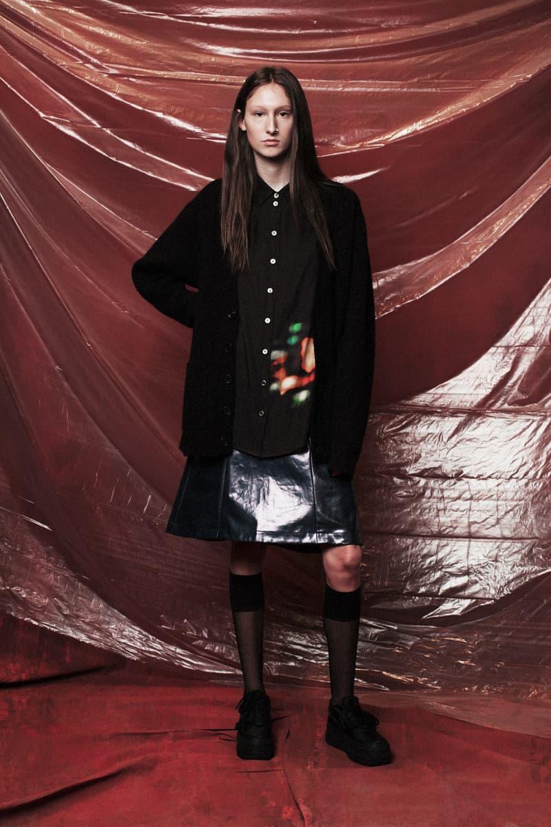 John Elliott Women's Fall/Winter 2018 Collection Lookbook Button-up Shirt Black