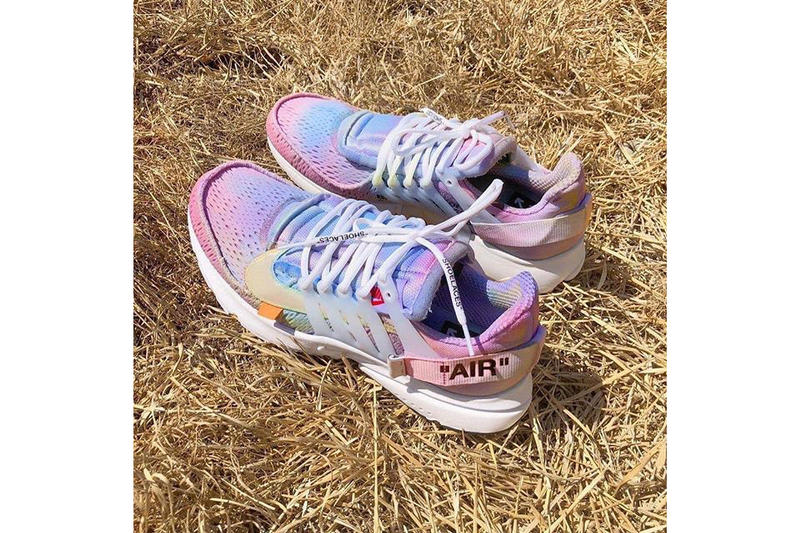 John Mayer Off White Nike Air Presto Tie Dye