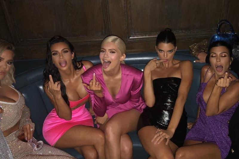 kanye west new single xtcy kim khloe kourtney kardashian kylie kendall jenner