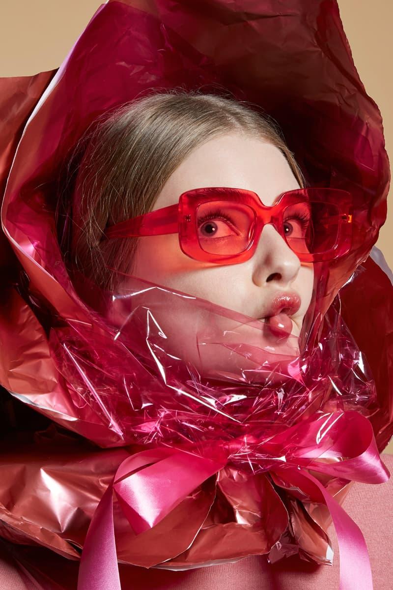 Karen Walker Sunglasses Capsule Collection Loveville Watermelon