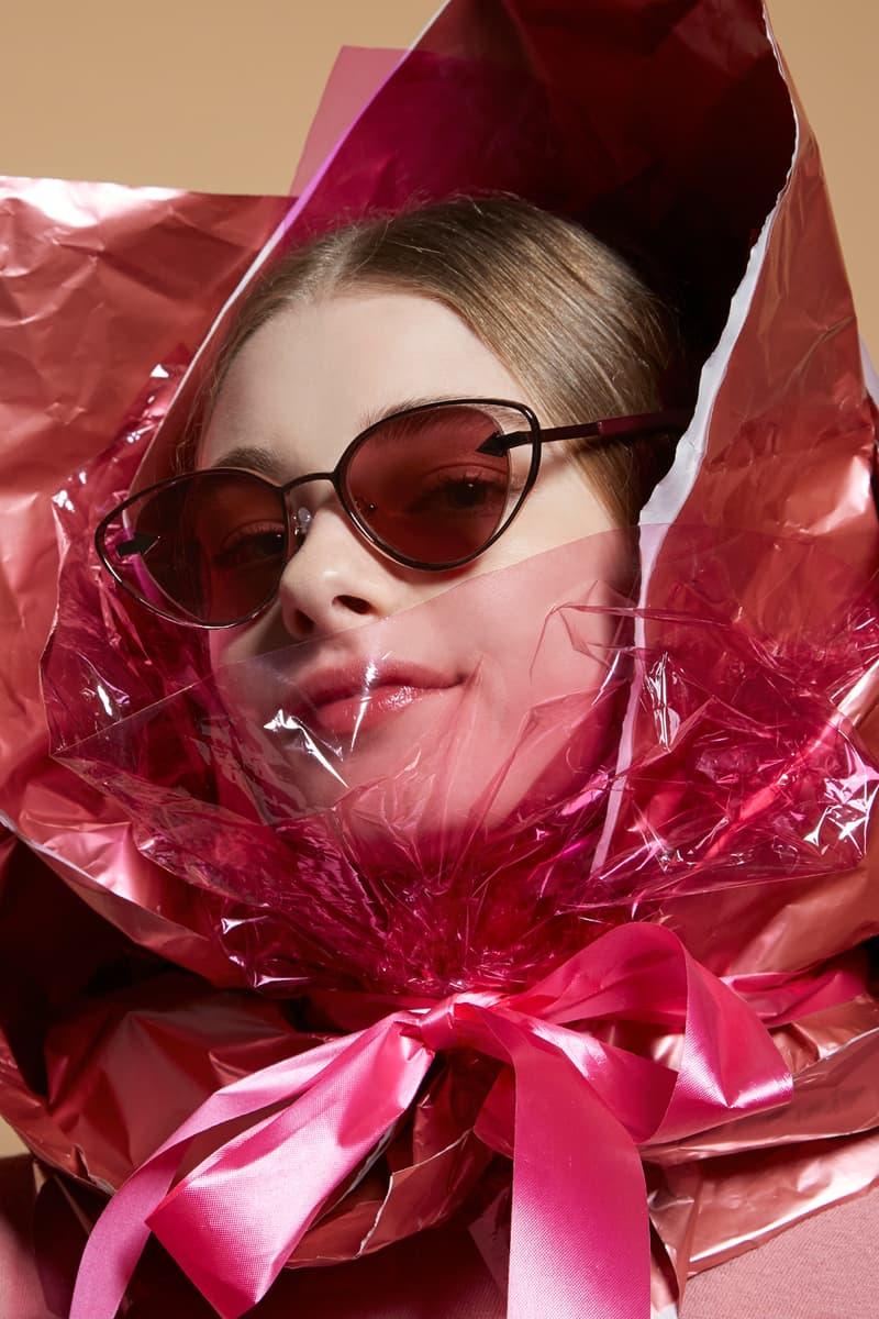 Karen Walker Sunglasses Capsule Collection Kissy Kissy Aubergine
