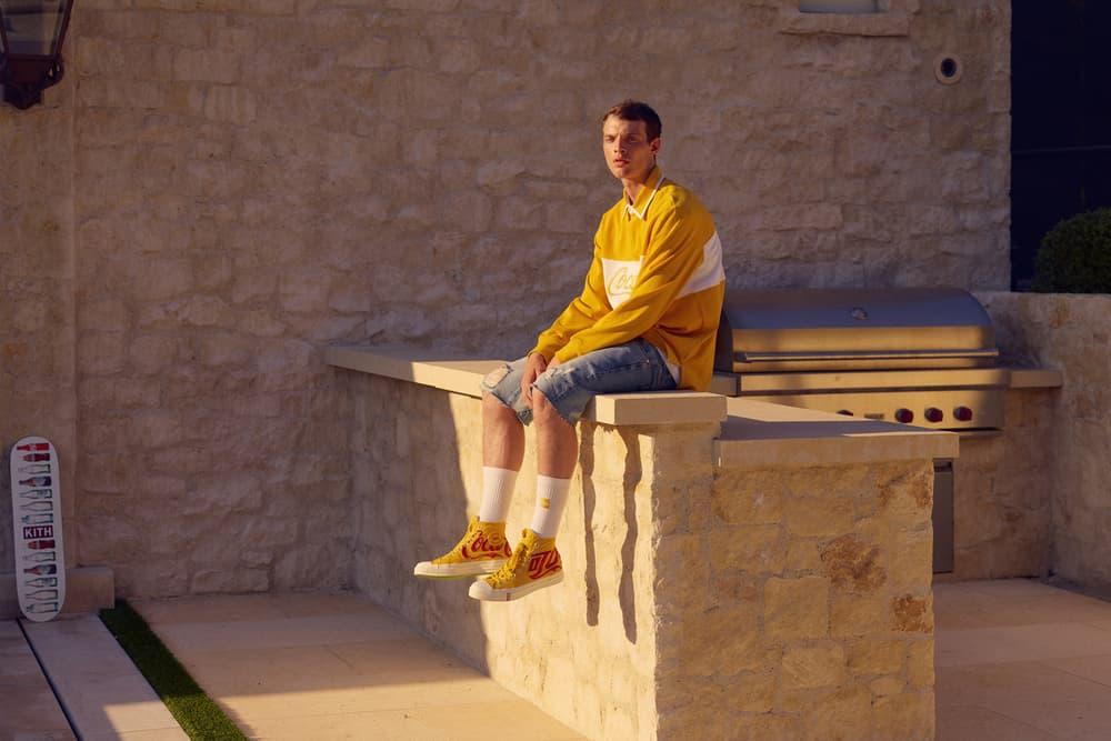 KITH x Coca Cola 2018 Collection Shirt Converse Chuck Taylor '70 Yellow
