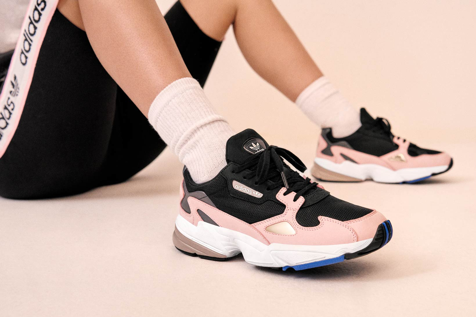 Kylie Jenner Debuts adidas' Falcon Dorf
