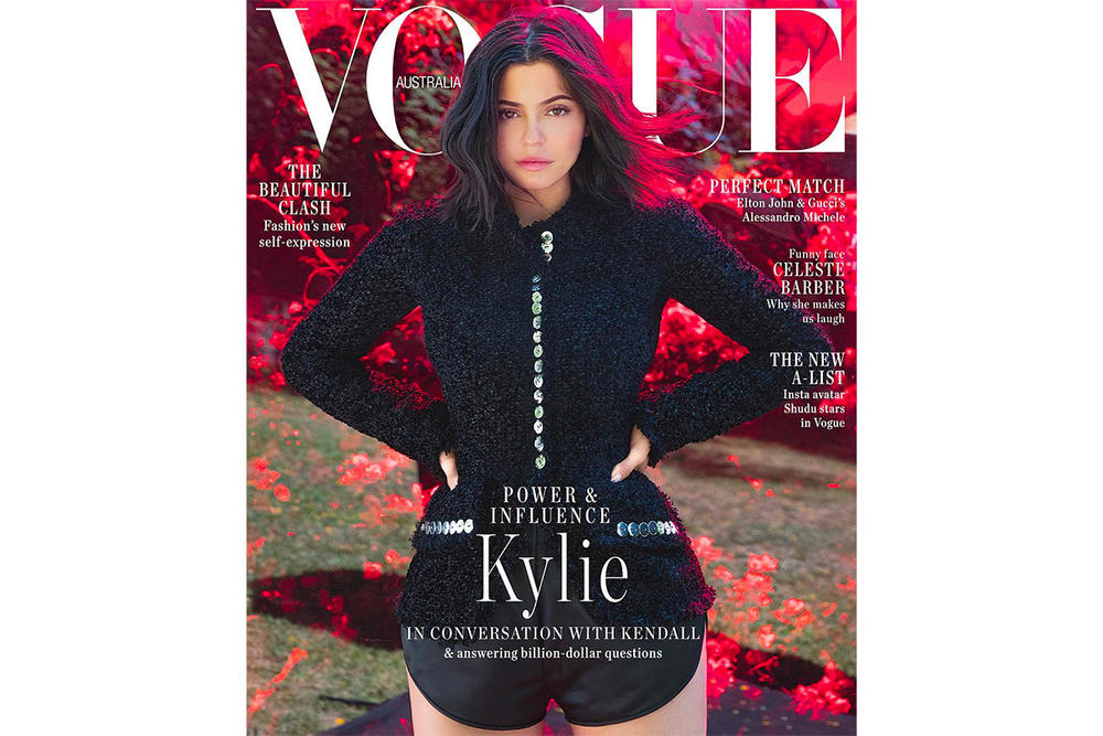 Kylie Jenner Vogue Australia September Issue 2018 Cover