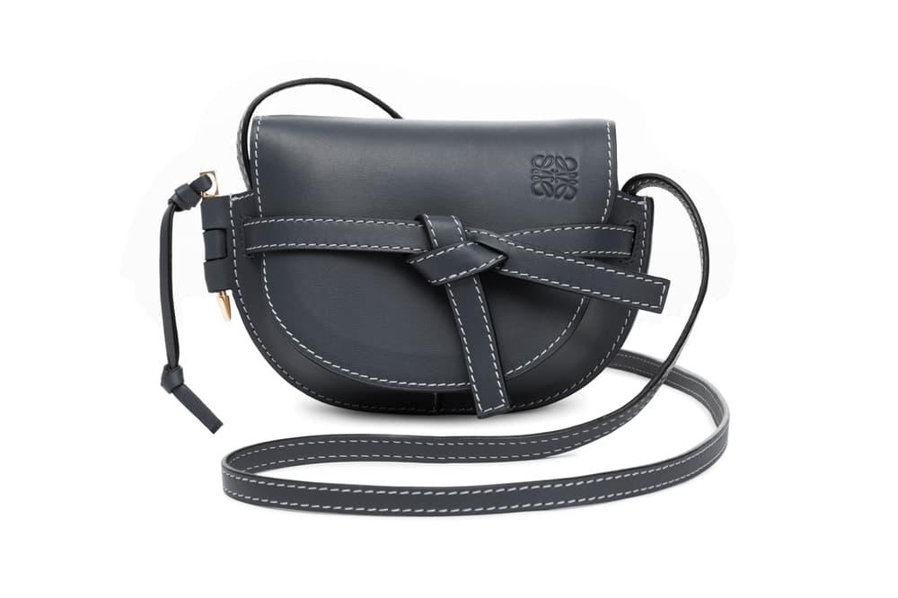 Loewe Mini Gate Bag Black