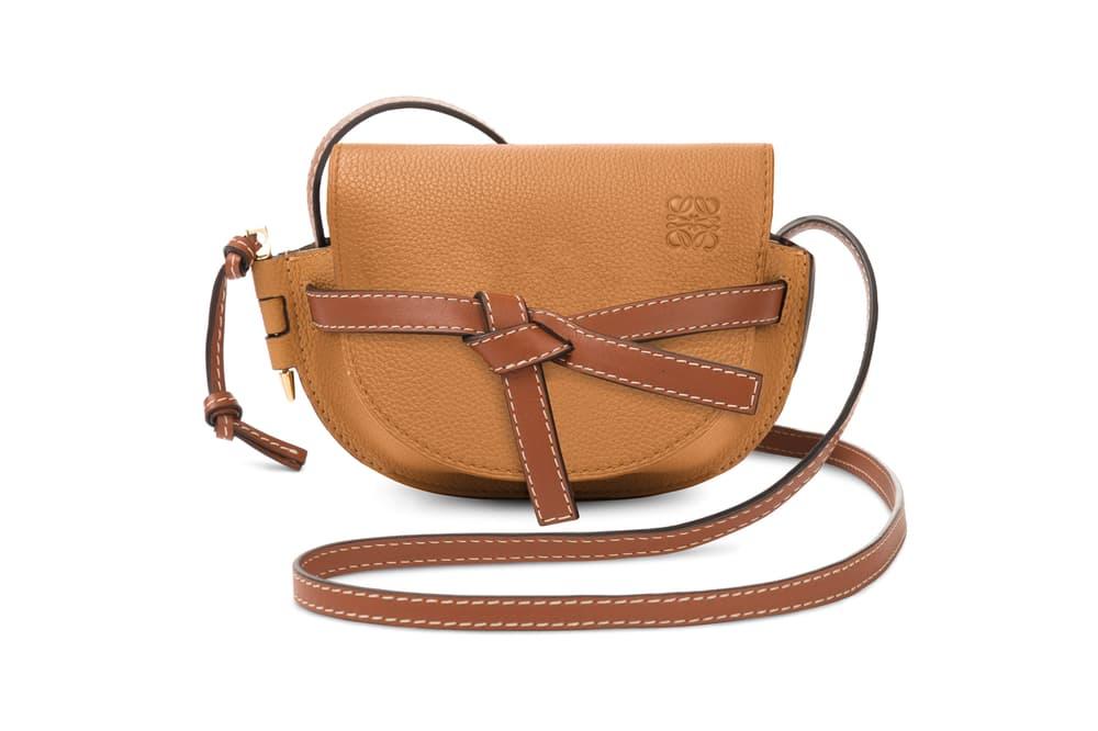 Loewe Mini Gate Bag Brown