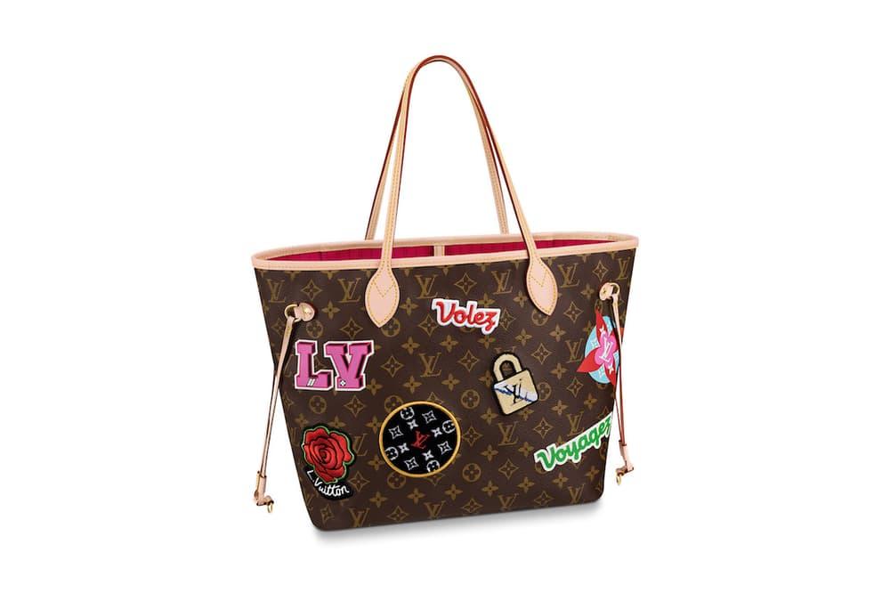 Louis Vuitton Customizable Patches Collection Designer Bag Wallet Shoes Purse