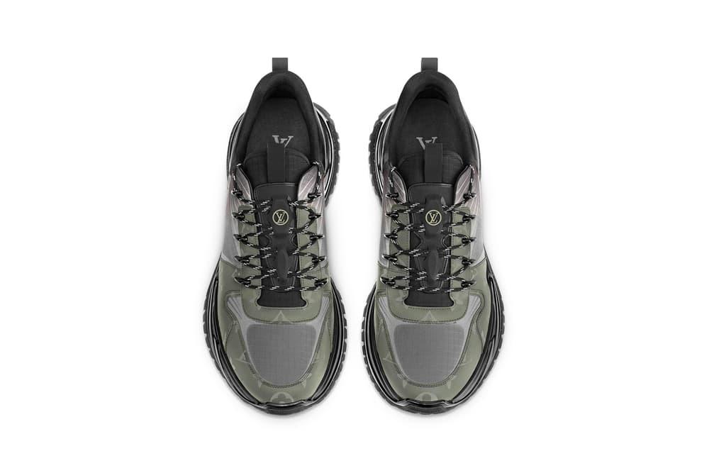 Louis Vuitton Run Away Pulse Sneaker Monogram Titanium Canvas