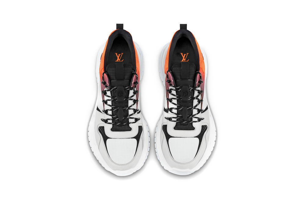 Louis Vuitton Run Away Pulse Sneaker Monogram Fluo Canvas Orange