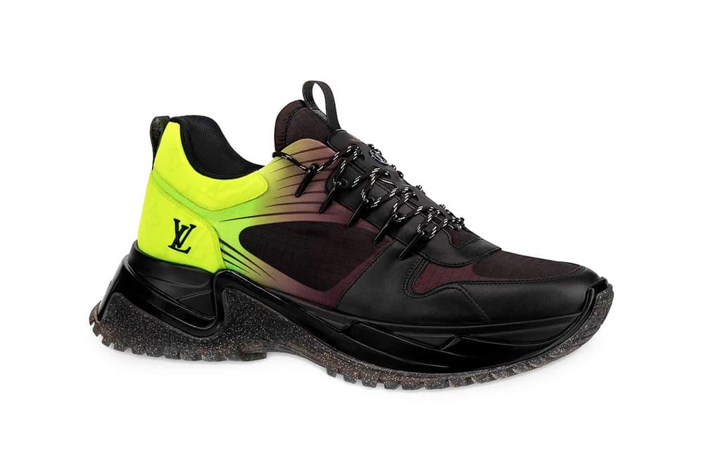 Louis Vuitton Run Away Pulse Sneaker Monogram Fluo Canvas Yellow