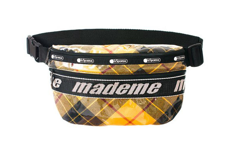 MadeMe x LeSportsac Capsule Collection Belt Bag Yellow Plaid