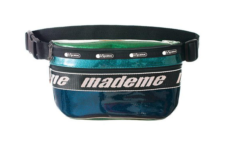 MadeMe x LeSportsac Capsule Collection Belt Bag Blue Sparkles