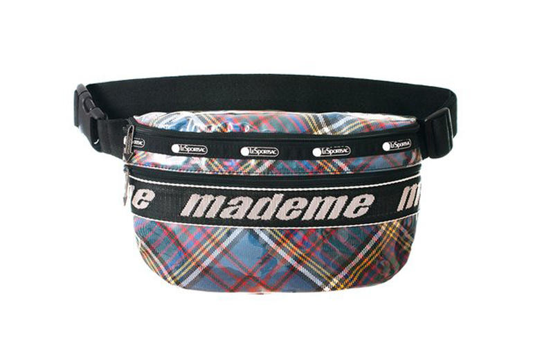 MadeMe x LeSportsac Capsule Collection Belt Bag Blue Plaid