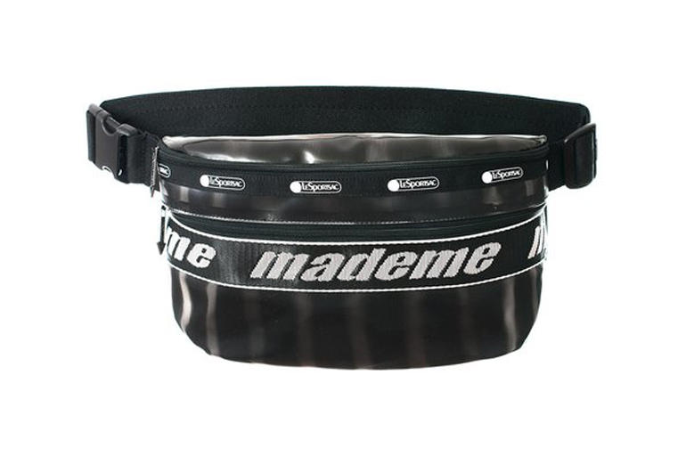 MadeMe x LeSportsac Capsule Collection Belt Bag Black Lenticular