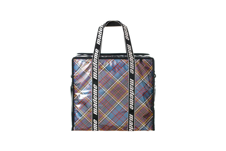 MadeMe x LeSportsac Capsule Collection Shopper Blue Plaid