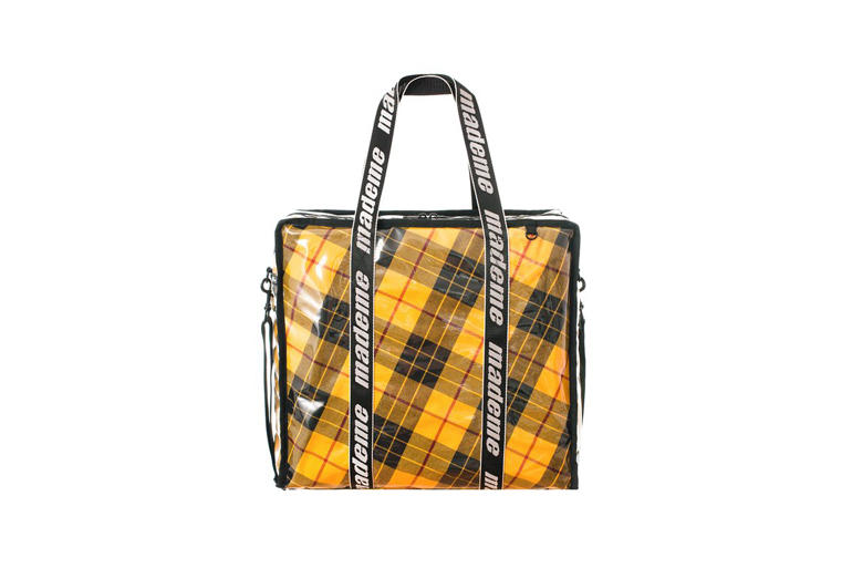 MadeMe x LeSportsac Capsule Collection Shopper Yellow Plaid