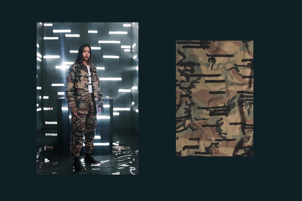 maharishi Fall/Winter 2018 Lookbook Dark Camo Print Tactical Collection Jackets