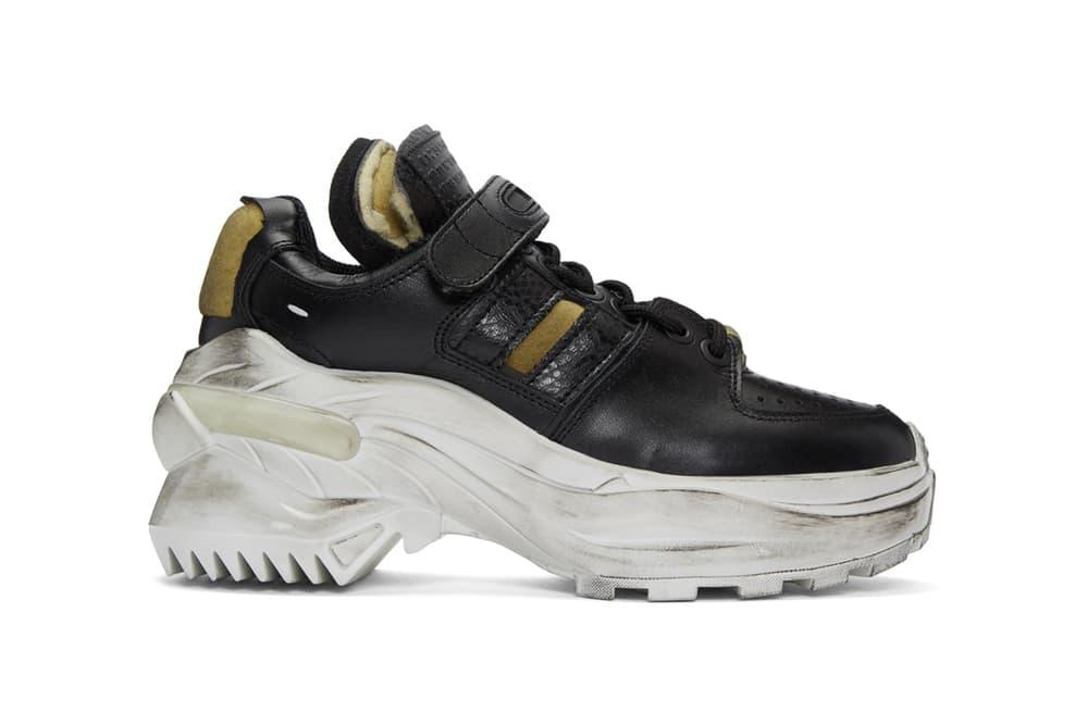 Maison Margiela Deconstructed Dad Sneaker Distressed Shoe Trainer Footwear