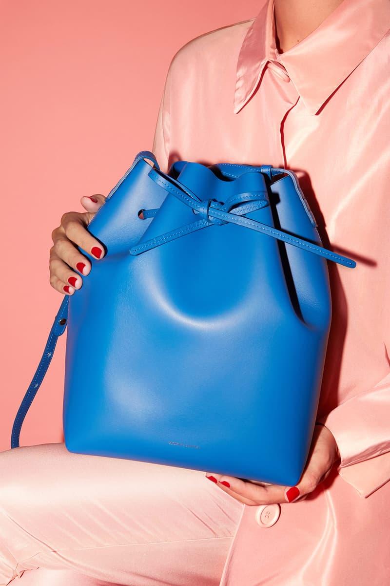 Mansur Gavriel LA Sample Sale August 23-25 2018 Los Angeles Shopping Bag Handbags Duffle Pink