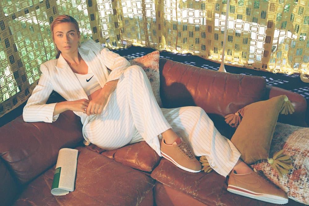 Maria Sharapova x Nike La Cortez Campaign
