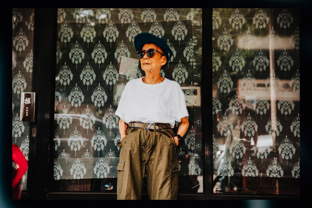 Moon Lin Taiwanese Streetwear Influencer 90 years old Supreme Noah Nike Adidas Fila Interview Photoshoot