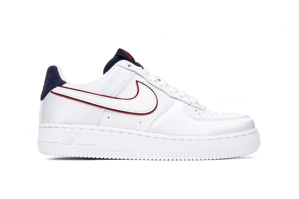 118a4193a4dcc Nike Releases Air Force 1 Satin Blackened Blue