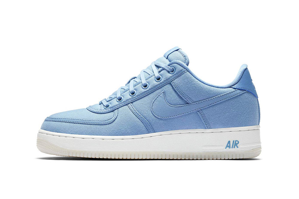 Nike Air Force 1 Canvas December Sky Off White