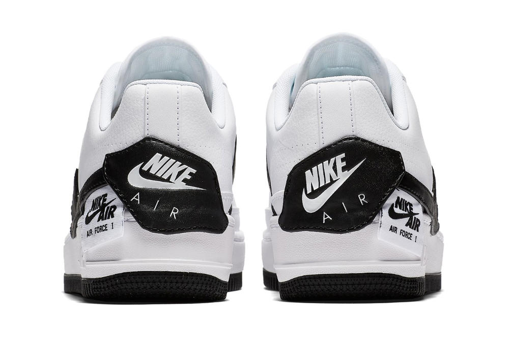Nike Air Force 1 Jester XX Black White Monochrome Women's Sneakers