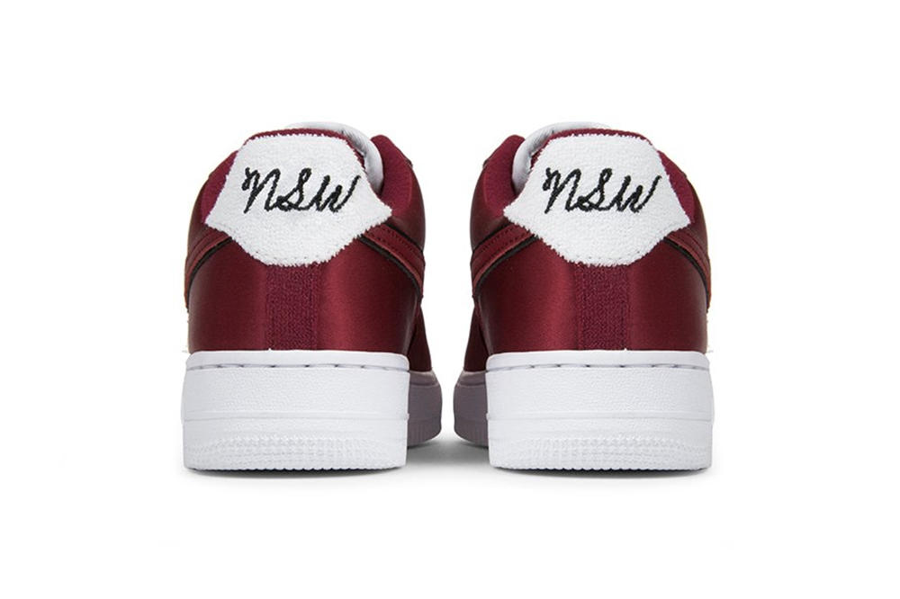 99049822779f Nike Air Force 1 NSW Red Crush Suede Women s Sneaker