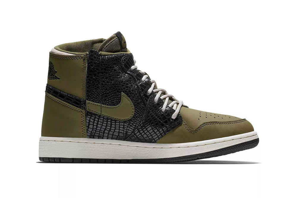 Nike Air Jordan 1 REBEL Olive Canvas